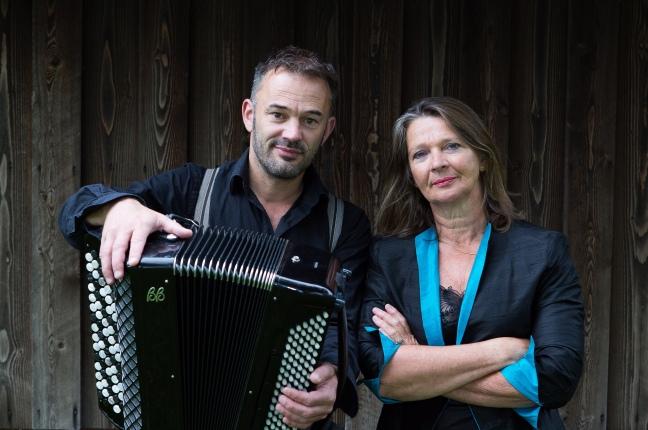 Foto Hanneke en Juul-Brechtfestival